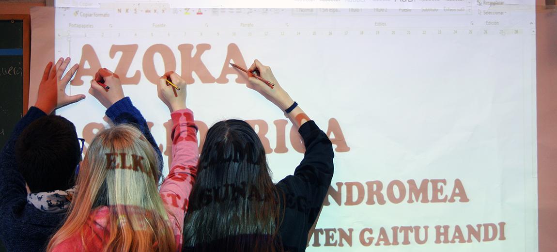6º de EP: Feria Solidaria por el Síndrome de Angelman